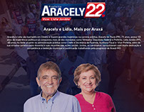 Campanha Política - Prefeito Aracely de Paula, Araxá/MG