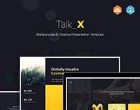Talk_X Creative Theme