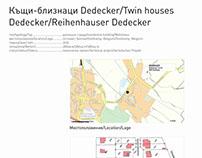 Twin houses Dedecker