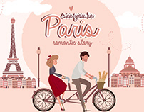 Paris. One romantic story