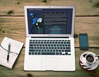 Web Design // Paper Cranes Research Site