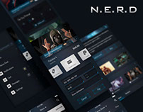 N.E.R.D - Platform Mobile UI Kit