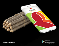 Tshedza App Social Media Graphics