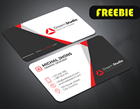 Abstract Business Card Freebie