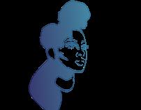 Brendee Model Logo Illustration