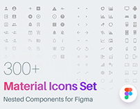 Material Icons Pack for Figma