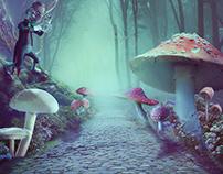 Wonderland-Photo manipulation