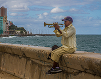 HABANA LIVE: In front of the Caribbean Sea