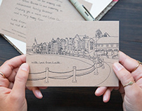 The Tartan Blanket Co. Illustrated Gift Note Cards
