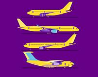 Jets illustrations