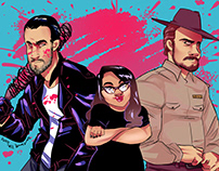 Negan Hopper blog header commission
