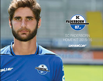 SC Paderborn Home Kit 2015-16