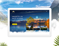 Landing page travelling