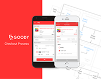 UI / UX Design for Goody Checkout Process