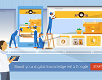 Google Digital Garage Youtube Banner Ad