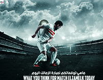WHAT YOU THINK FOR MATCH ELZAMELK TODAY