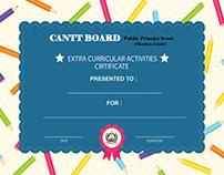 Certificates of Participation, Achievement,Award