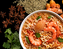 Maggi Senses Curry Prawn Mee