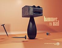 hammer vs nail