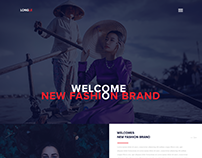 LONGLE Fashion Landing Page