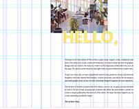 Typography - Magazine Design Project - My Process