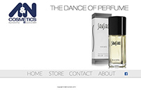 A&N Cosmetics Web Site