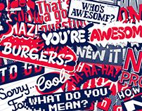 Small Talk Kit – stickerpack for messenger