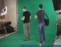 Intégration de décors virtuels 3D