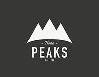Three Peaks - Logo Concept