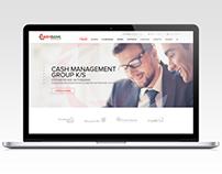 """Design financial website """"CashBankGroup"""""""