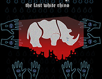 The Last White rhino.