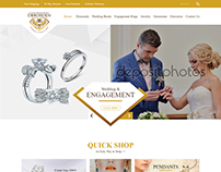 Nexstair make Wedding Engagement Rings Maker Web Design
