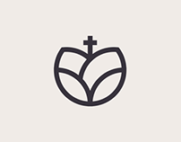 Rose Curch logo design