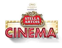Stella Artois Cinema.