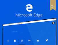 Microsoft Edge - A conceptual design approach