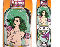 Death skateboards - Mermaid