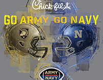 Army / Navy Football 2018 - Key Illustrations