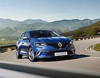 Shooting Renault Megane 2016