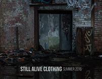 Still Alive Clothing // Summer 2016 Sampler
