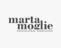Marta Moglie - Brand identity and Website