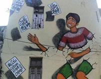 Street Art, Calligraphy by Likhawat.
