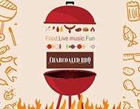 Charcoaled bbq Fb Creatives