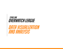 Overwatch League Stage One Analysis