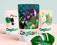 Illustrations for Coffee Packages