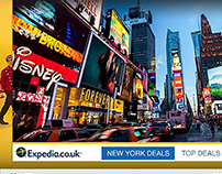 Expedia Expand Video Overlay