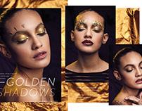 Golden Shadows for Revista Peluquerias ED25