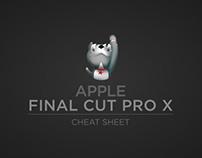 Final Cut Pro X 10.1 cheat sheet