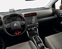 Citroen C3 Aircross 2017 (Interior Design)
