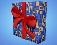 Diseño de papel de regalo