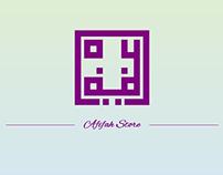Logo Design : Afifah Online Store